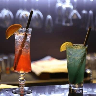 Bambus sugerør i drinks